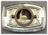 Statue of Liberty Half Dollar Belt Buckle (Minted 1986)
