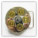 Barrel Gun Belt Buckle