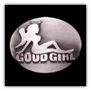 Good Girl Belt Buckle
