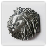Lion Head Belt buckle