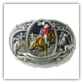 Championship Rodeo Belt Buckle