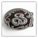 Snake - Red Eye - Belt Buckle