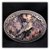 Mossy Oak Pheasant Belt Buckle