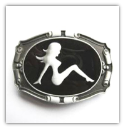 Mud Flap Girl Belt Buckle