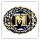 "Monograms™ ""M"" Belt Buckle"