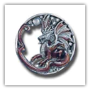 Black Dragon Belt Buckle